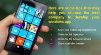 Tips To Choose A Windows App Development Company