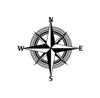 Nautical Compass Metal Wall Decor $53.99 �œ� Handcrafted in USA! �œ� Support American Artisans