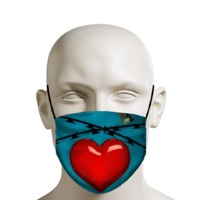 Heart Face Mask $14.95