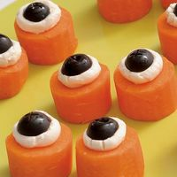 Start the kids off right with some healthy and fun halloween food.