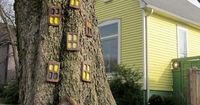This can be an easy craft project for your garden! You do not need a lot of thing, inspiration, pieces of wood