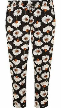 Dorothy Perkins Womens Tall Daisy Joggers- Black DP14539958 Pull on style formal jogger with a black and orange daisy print. Approx length 82cm. 100% Viscose. Machine washable. http://www.comparestoreprices.co.uk//dorothy-perkins-womens-tall-daisy-jog...