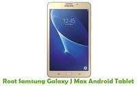 How To Root Samsung Galaxy J Max Android Tablet