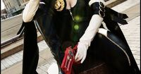 Character: Bayonetta / From: Platinum Games 'Bayonneta' Video Game Series / Cosplayer: Unknown