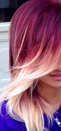 yes! red and ombre hair color. I can't seem to find a stylist that can do this here. It's driving me nuts.