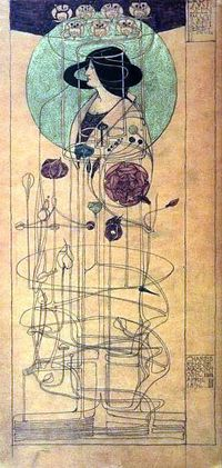 "Brilliant...Part Seen - Part Imagined ( 1896) watercolour by Charles Rennie Mackintosh (1868�€""1928).He was from the Arts and Crafts Movement http://en.wikipedia.org/wiki/Charles Rennie Mackintosh"
