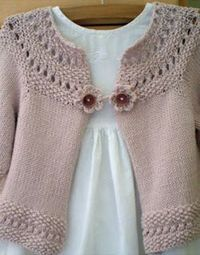 knitting sweaters for little girls | Share Knit and Crochet: Knitting cardigan for little girls