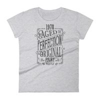 1978 Birthday Gift, Vintage Born in 1978 t-shirt for women, 40th Birthday shirt for her, Made in 1978 T-shirt, 40 Year Old Birthday Shirt $25.00