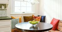 Banquettes can lend storage space for kitchens with limited cabinet space: http://www.bhg.com/kitchen/eat-in-kitchen/space-savvy-breakfast-room-banquettes/?socsrc=bhgpin060514spacesmartbanquette&page=8