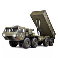 HG P803A Upgraded Light Sound 1/12 2.4G 8X8 EP RC Car for US Army Military Truck 5KG Load Capacity w/o Battery Charger