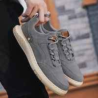 Breathable Flock Suede Mens Sneakers Shoes,NEW,on Sale! More Info:https://cheapsalemarket.com/product/breathable-flock-suede-mens-sneakers-shoes/