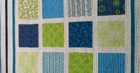- Aqua/green modern squares. I love this and would like to see the measurements of the squares and the tracking. If anyone knows tell me.