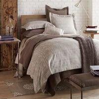 Biagio Linen Bedding by Peacock Alley $955.00