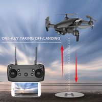 Dongmingtuo X12 720P Wide Angle Camera WiFi FPV Drone Optical Flow Altitude Hold Gesture Taking Photo RC Quadcopter