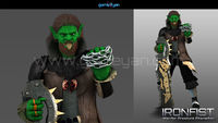 Find your Ironfist Warrior Creature Character Ready optimized model from GameYan Studio.