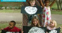 Hands-On Moon Painting Craft with Homemade Puffy Paint!