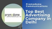 An advertising agency is an organization that creates, plans, and executes a client's advertising strategy along with certain other marketing activities. Promodome Communications is the best advertising company in Delhi. This is the leading brand co...