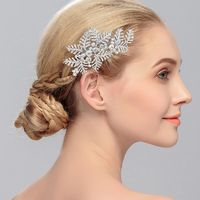 Dainty Leaves Hair Comb Bridal Party Gifts $26.99