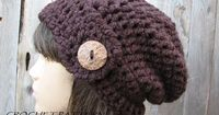Looking for your next project? You're going to love Crochet easy slouchy hat by designer EvasStudio. - via