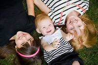 » Adorable Sisters | Child & Family Portrait Photography at Munsinger Gardens