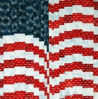 FREE Quilt Pattern: Firework Flag by Gigi Khalsa. Piece, cut, rearrange, re-piece. That's all you need to do to create this patriotic FREE quilt pattern made with Artisan Batiks by Robert Kaufman Fabrics. Thanks to the step-by-step instructions in E...