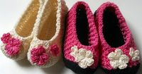 Crochet Baby Booties Free Pattern - uses pineapple stitch