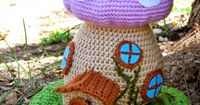 Spring Fairy House crochet pattern free from