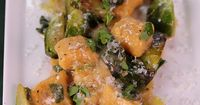 Sweet Potato Gnocchi with Brussels Sprouts and Brown Butter by Michael Symon! #TheChew