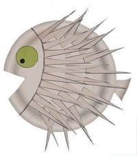 Paper Plate Puffer FIsh: The children at the preschool would love to make this puffer fish. The children would reinforce their vocabulary with this activity, which is DAP. A story book containing a puffer fish would be great to use before making them.