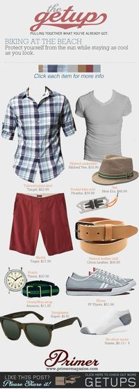 The Getup: Biking At The Beach | Primer