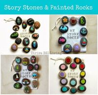 I love that something as natural as a rock can been turned into something magical with just a little paint. Story stones and painted rocks are a great way to foster storytelling, creative play and conversations with your child. IRead More