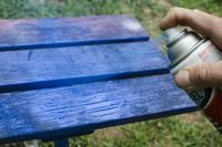 Spray paint is a convenient and inexpensive way to paint just about any object. Due to it's design, it can also be messy. Spray paint easily gets on the skin--m