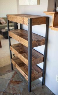 Handmade pallet bookshelf. by Amy Claire