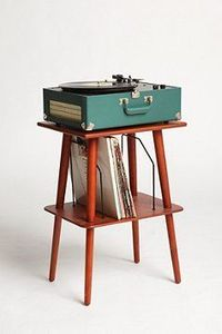 perfect for my record player and vinyls: manchester media stand.