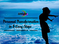 As the physical transformation happens in the human's life on a slowly and constantly, the same way personal transformation should happen. Unfortunately, it does not happen as automatically as physical transformation. It needs to be worked upon.