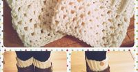 [Free Pattern] These Crochet Boot Cuffs Are Stunning And Easy - Knit And Crochet Daily