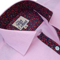Baby Pink Oxford Kashmir Tulip Regular Fit Cotton Shirt �'�1049.00