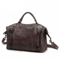 Genuine Leather Women Handbag / Shoulder Bag $500.64