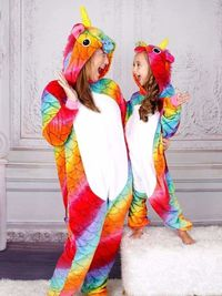 Get 40% off on Mommy and Me Rainbow Scale Unicorn Pajamas ($29.99)