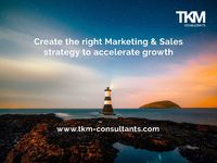TKM is an independent Consultancy working alongside ambitious brands, agencies, SMEs and tech companies.We create growth and deliver Marketing Excellence, Efficiency and Effectiveness.