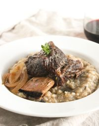 Incredibly tender and flavorful Balsamic Braised Short Ribs are easy to make but taste impressive enough for a dinner party. Simply elegant comfort food!