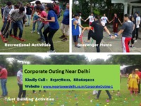 Find ideal Corporate Venues for Corporate Outing Near Delhi. Contact us at 8826291111. Visit: http://bit.ly/38m3Aw2