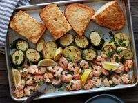 Get Sheet Pan Shrimp Scampi Recipe from Food Network
