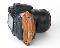 Leather Camera Wrist Strap for SLR cameras