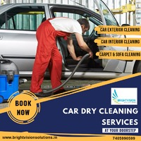 Don't have time to clean your dirty car? No worry! when we are here to help you. We provide complete Car Dry Cleaning Services at your Doorstep.  Book us today!  For further details please feel free to contact us at: 7405990599  Or visit us...