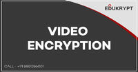 Through the launching of Video encryption technique, you fully secures your video files by the unauthorized uses. Edukrypt has developed video encryption software which uses 256bits AES Technology and provides watermarking protection, screen capturing fea...