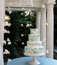 No white wedding cakes here! Redefine what it is to have a wedding cake with one of these outside-the-box ideas.