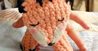 Find out how to make this simple and adorable finger puppet for your little one. This pattern is quick to whip up too.