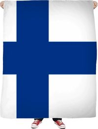 Finland Fleece Blanket $65.00