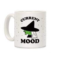 Current Mood Witch Ceramic Coffee Mug $14.99 �œ�Handcrafted in the USA! �œ�